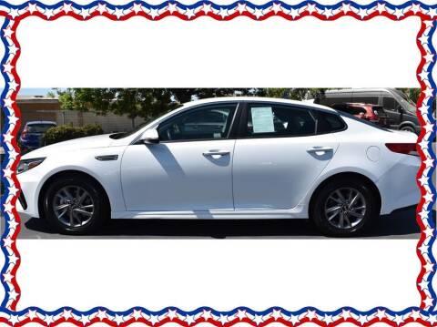 2019 Kia Optima for sale at American Auto Depot in Modesto CA