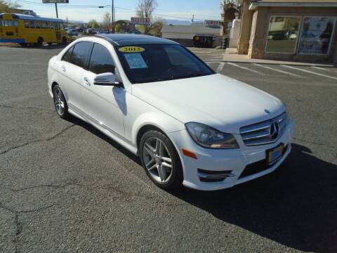 2013 Mercedes-Benz C-Class for sale at Team D Auto Sales in St George UT