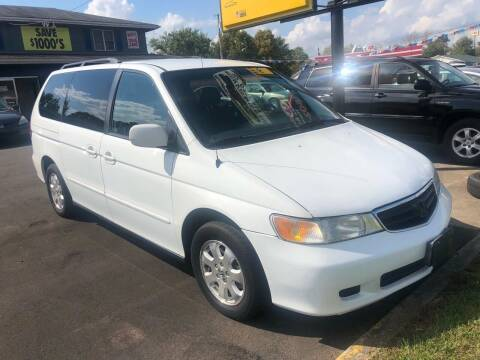 2003 Honda Odyssey for sale at Wise Investments Auto Sales in Sellersburg IN