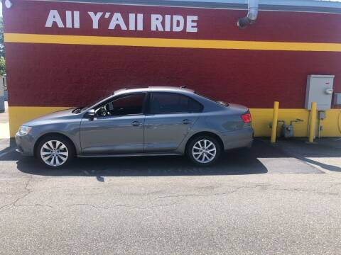 2012 Volkswagen Jetta for sale at Big Daddy's Auto in Winston-Salem NC