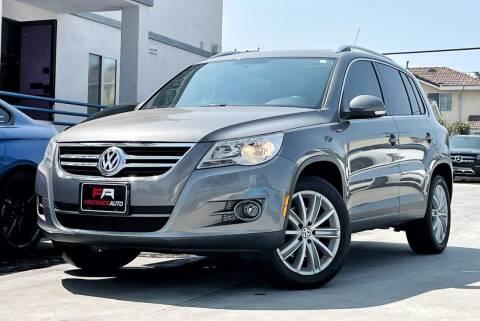 2010 Volkswagen Tiguan for sale at Fastrack Auto Inc in Rosemead CA