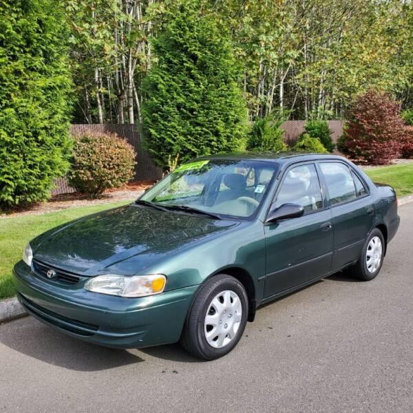 2000 Toyota Corolla for sale at Money Man Pawn (Auto Division) in Black Diamond WA