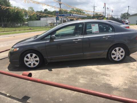 2009 Honda Civic for sale at Bobby Lafleur Auto Sales in Lake Charles LA