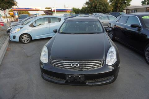 2006 Infiniti G35 for sale at Thomas Auto Sales in Manteca CA
