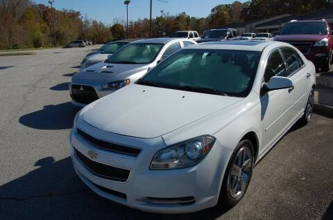 2012 Chevrolet Malibu for sale at Modern Motors - Thomasville INC in Thomasville NC