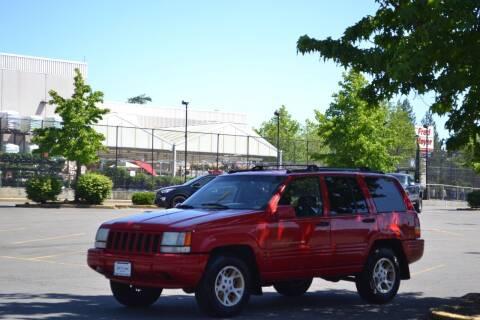 1996 Jeep Grand Cherokee for sale at Skyline Motors Auto Sales in Tacoma WA