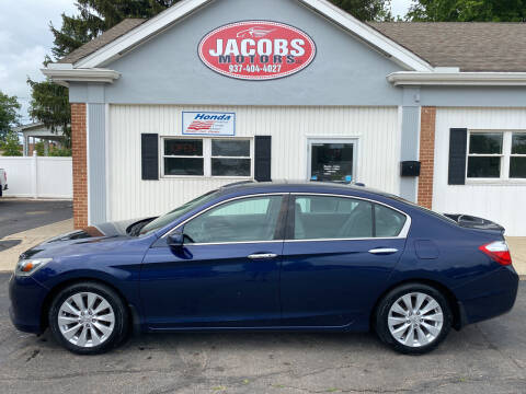 2014 Honda Accord for sale at Jacobs Motors LLC in Bellefontaine OH