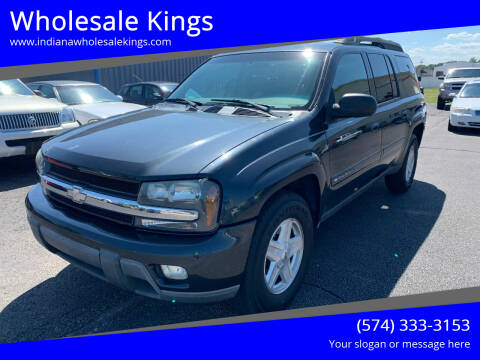 2003 Chevrolet TrailBlazer for sale at Wholesale Kings in Elkhart IN