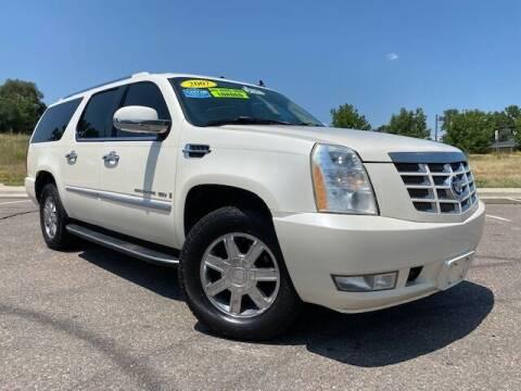 2007 Cadillac Escalade ESV for sale at UNITED Automotive in Denver CO