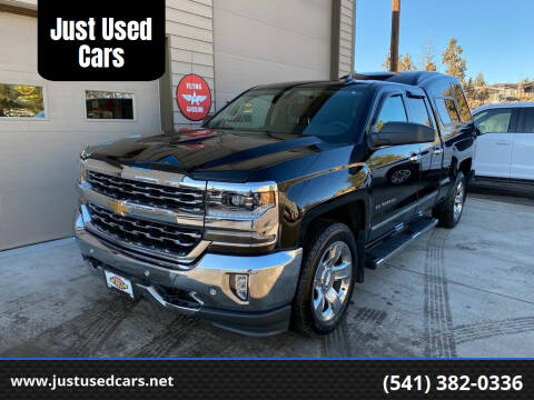 2018 Chevrolet Silverado 1500 for sale at Just Used Cars in Bend OR