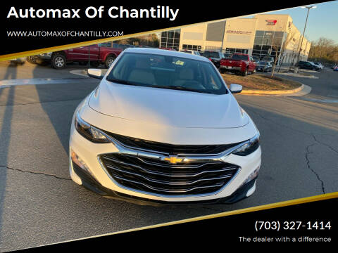 2020 Chevrolet Malibu for sale at Automax of Chantilly in Chantilly VA