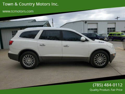 2009 Buick Enclave for sale at Town & Country Motors Inc. in Meriden KS