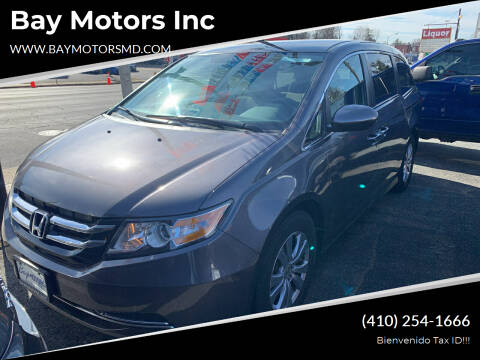 2017 Honda Odyssey for sale at Bay Motors Inc in Baltimore MD