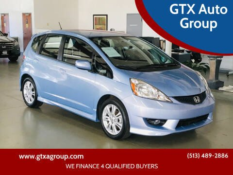 2010 Honda Fit for sale at GTX Auto Group in West Chester OH