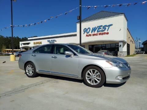 2012 Lexus ES 350 for sale at 90 West Auto & Marine Inc in Mobile AL