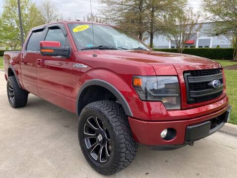 2013 Ford F-150 for sale at UNITED AUTO WHOLESALERS LLC in Portsmouth VA
