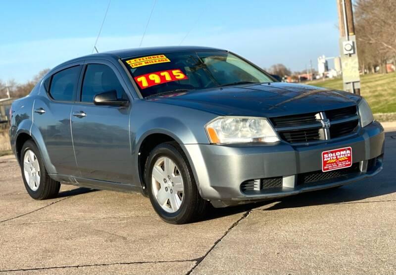 2010 Dodge Avenger for sale at SOLOMA AUTO SALES in Grand Island NE