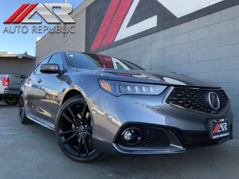 2020 Acura TLX for sale at Auto Republic Fullerton in Fullerton CA