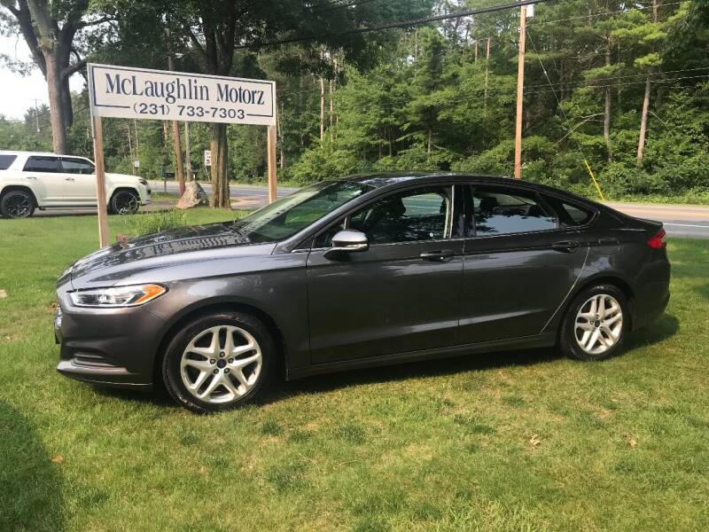 2016 Ford Fusion for sale at McLaughlin Motorz in North Muskegon MI