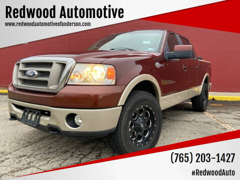 2007 Ford F-150 for sale at Redwood Automotive in Anderson IN