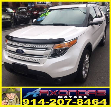 2012 Ford Explorer for sale at ARXONDAS MOTORS in Yonkers NY