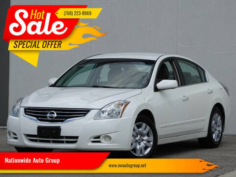 2010 Nissan Altima for sale at Nationwide Auto Group in Melrose Park IL