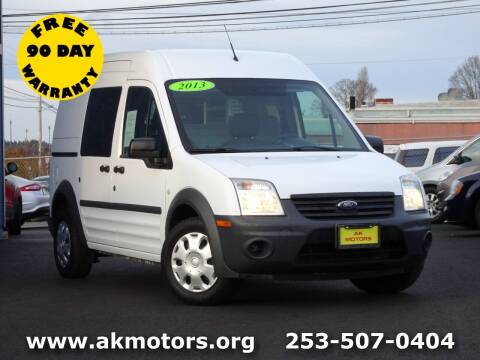 2013 Ford Transit Connect for sale at AK Motors in Tacoma WA