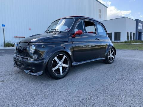 1971 FIAT 500 for sale at TOP TWO USA INC in Oakland Park FL