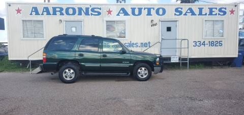 2003 Chevrolet Tahoe for sale at Aaron's Auto Sales in Corpus Christi TX