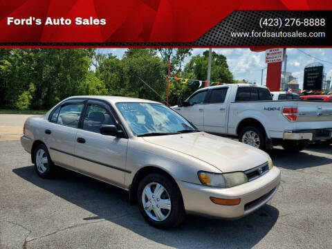 1995 Toyota Corolla for sale at Ford's Auto Sales in Kingsport TN