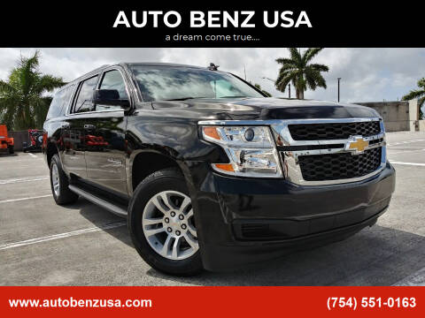2020 Chevrolet Suburban for sale at AUTO BENZ USA in Fort Lauderdale FL