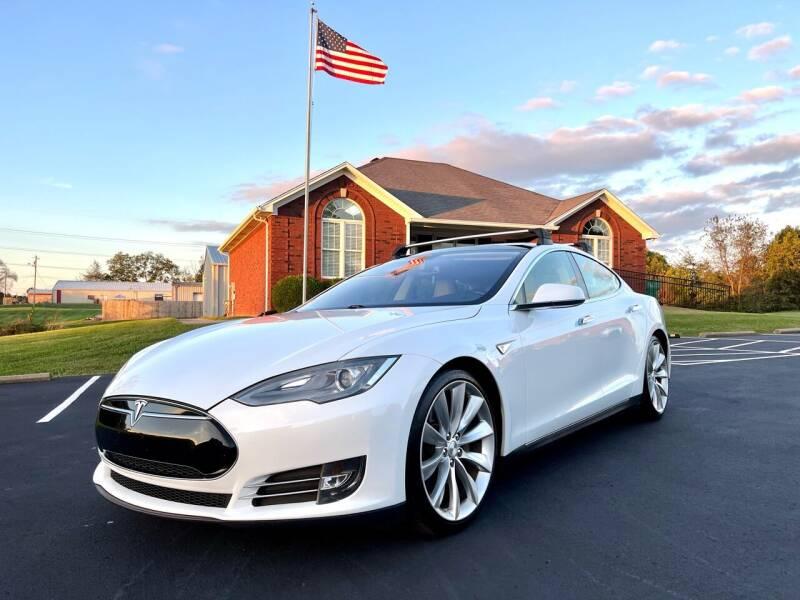 2013 Tesla Model S for sale at HillView Motors in Shepherdsville KY