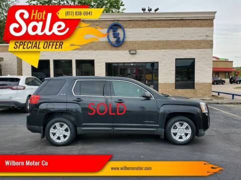 2013 GMC Terrain for sale at Wilborn Motor Co in Fort Worth TX