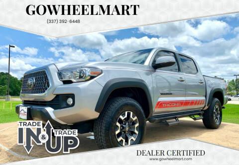 2019 Toyota Tacoma for sale at GOWHEELMART in Leesville LA