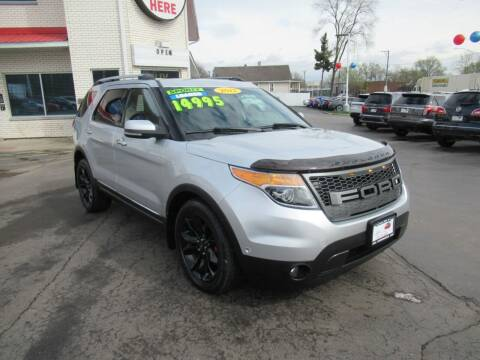 2012 Ford Explorer for sale at Auto Land Inc in Crest Hill IL