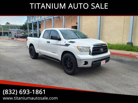 2011 Toyota Tundra for sale at TITANIUM AUTO SALE in Houston TX