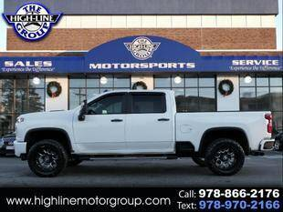 2020 Chevrolet Silverado 2500HD for sale at Highline Group Motorsports in Lowell MA