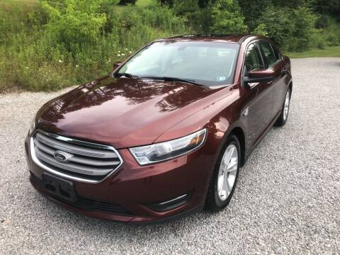 2015 Ford Taurus for sale at R.A. Auto Sales in East Liverpool OH