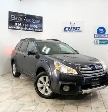 2013 Subaru Outback for sale at Elegant Auto Sales in Rancho Cordova CA