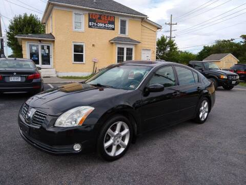 2005 Nissan Maxima for sale at Top Gear Motors in Winchester VA
