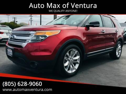 2013 Ford Explorer for sale at Auto Max of Ventura in Ventura CA
