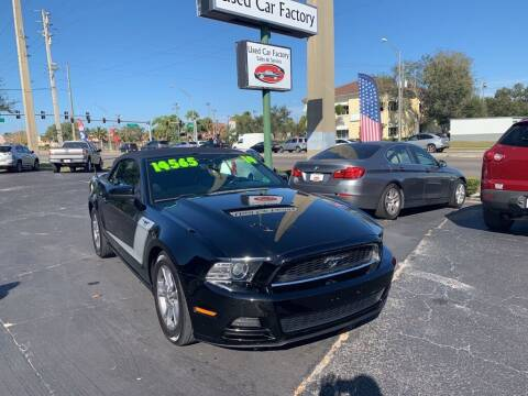 2014 Ford Mustang for sale at Used Car Factory Sales & Service in Bradenton FL