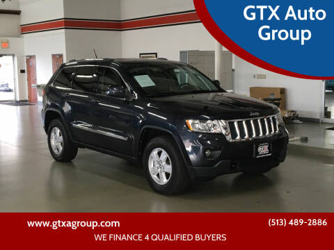 2012 Jeep Grand Cherokee for sale at GTX Auto Group in West Chester OH