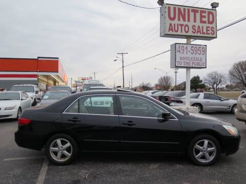 2005 Honda Accord for sale at United Auto Sales in Oklahoma City OK