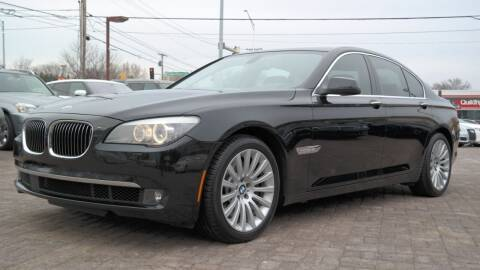 2012 BMW 7 Series for sale at Cars-KC LLC in Overland Park KS