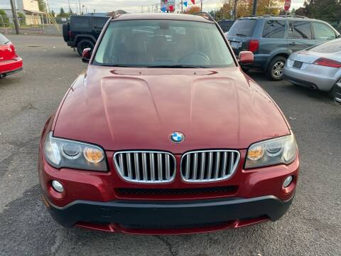2009 BMW X3 for sale at JZ Auto Sales in Happy Valley OR