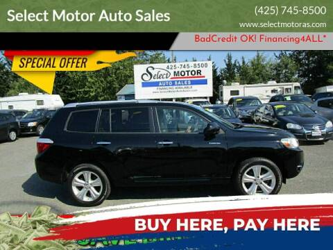 2009 Toyota Highlander for sale at Select Motor Auto Sales in Lynnwood WA