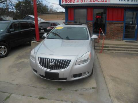 2011 Buick Regal for sale at CARDEPOT in Fort Worth TX