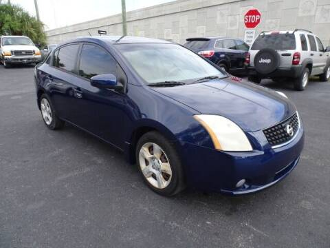 2009 Nissan Sentra for sale at DONNY MILLS AUTO SALES in Largo FL