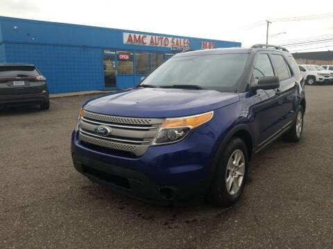 2013 Ford Explorer for sale at AMC Auto in Roseville MI